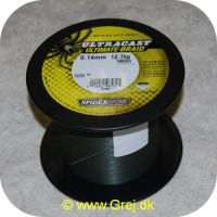 022021065721 - Spider wire Ultracast Ultimate-braid - 0.14mm/12.7kg - vælg antal meter