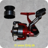 022255130776 - Shimano Catana 3000SFB spinnehjul m/ekstra spole - Frontbremse - Gear Ratio: 5.2:1 - 2 + 1 lejer - Linekap.: 0.18mm/240m - 0.25mm/140m