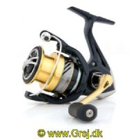 022255207829 - Shimano Nasci 1000 FB - Gear Ratio 5.0:1 - Linekapacitet 0.2mm/140m - Leje 4+1