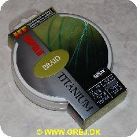 022677096087 - Rapala Titanium Braid fletline - 0.10mm/5.0kg - 300 meter