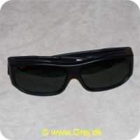 022677181523 - Rapala Fit Over - Slim Fit solbriller til brug over briller - Polarized