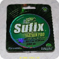 024777339477 - Sufix Matrix Pro fletline - 250 meter - 0.34mm/22.7 kg