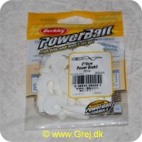 028632090251 - Power Bait - Power Grub White - 20 stk