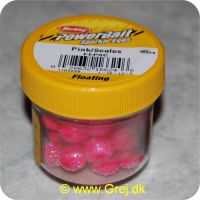028632166246 - PowerBait - Pink/Scales - Sparkle Eggs - Floating - Art. no.: 1103828