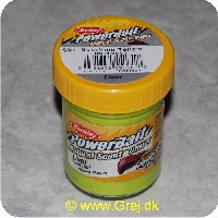 028632551318 - Berkley PowerBait med glimmer - Sunshine Yellow med lever
