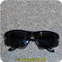 60b4c2d3d17e 028632675502 - Berkley Solbriller - Uden kant under glassene - Sort stel  med Gråblå glas