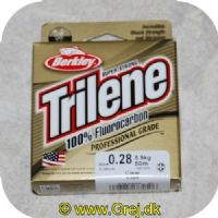 028632734506 - Berkley Trilene Super Strong - 100% Fluorocarbon - 0.28mm/5.9kg - 50m