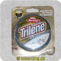 028632734605 - Berkley Trilene Super Strong - 100% Fluor Carbon - 0.22mm/3.7kg - 150m - Klar