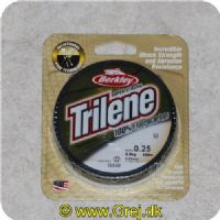 028632734612 - Berkley Trilene Super Strong - 100% Fluor Carbon - 0.25mm/4.9kg - 150m - Klar