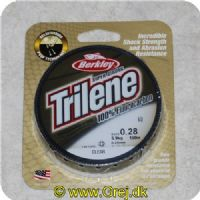 028632734629 - Berkley Trilene Super Strong - 100% Fluor Carbon - 0.28mm/5.9kg - 150m - Klar