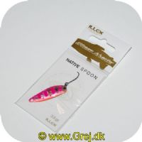 3297830618889 - Illex Skeblink - Native Spoon - 3.5g - Pink Yamame