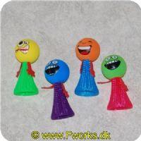 5600334802308 - Happy hop Smily diverse faver med LED blink lys