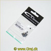 5704041016307 - Tungsten Bead Head - 3,8 mm - Black