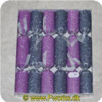 5704777008812 - 6 festlige knallerter i glimmer