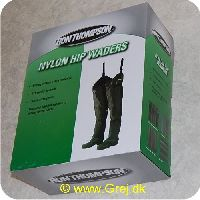 5706301500670 - Ron Thomsen nylon Hip waders - str. 44/45 - skridtstøvler