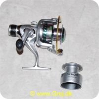 5707549195918 - Fly More CR3000R - 4+1 lejer - Linekap.: o.20mm/240m - 25mm/200m - 1 ekstra spole