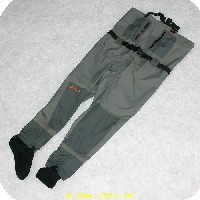 5707549212882 - Kinetic åndbare waders model Waterspeed - strømpemodel str. XL - Stockingfoot
