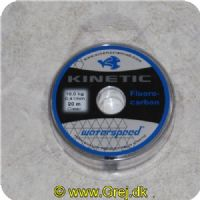 5707549268810 - Kinetic - 100% Fluorocarbon - 0.41mm - 10 kg - 20 meter