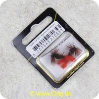 5707549270653 - Unique Flies - 2 stk. pakke - Red Tag Red/Brown TMC 100 #12