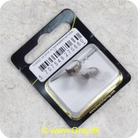 5707549270660 - Unique Flies - 2 stk. pakke - Klinkhammer Natural TMC 2487 #12 (FL00202)
