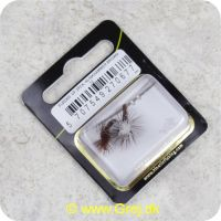 5707549270677 - Unique Flies - 2 stk. pakke - Klinkhammer Brown TMC 2487 #12 (FL00203)