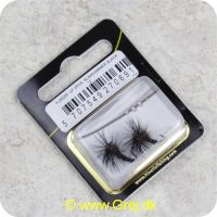 5707549270691 - Unique Flies - 2 stk. pakke - Klinkhammer Black TMC 2487 #12 (FL00205)