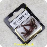 5707549270707 - Unique Flies - 2 stk. pakke - Rocken Dark Brown Daiichi 2220 #10 (FL00206)