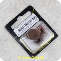 5707549270714 - Unique Flies - 2 stk. pakke - Nattlænder Brown TMC 2302 #12 (FL00207)