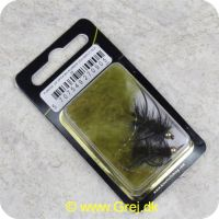 5707549270905 - Unique Flies - 2 stk. pakke - B.H. Rubber Leg Wooly Olive #8 (FL00226)