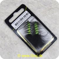 5707549270950 - Unique Flies - 2 stk. pakke - Flash a Bugger Fluo Lime 2220 #8 (FL00231)