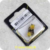 5707549271087 - Unique Flies - 2 stk. pakke - Bich Creek Black/Yellow Daiichi 1710 #8 (FL00244)