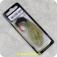 5707549271421 - Unique Flies - 2 stk. pakke - Tinseli Fly Gold TMC 8089 #10 (FL00278)