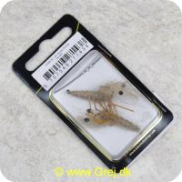 5707549271438 - Unique Flies - 2 stk. pakke - Honey Shrimp Tan Daiichi 1710 #6 (FL00279)