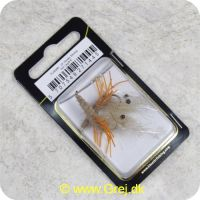 5707549271445 - Unique Flies - 2 stk. pakke - Honey Shrimp Hot Leg Daiichi 1710 #6 (FL00280)