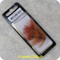 5707549272046 - Unique Flies - 2 stk. pakke - Ullsocken 1.5 tomme - Rørflue (FL00340)