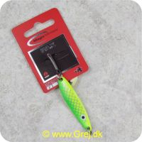 5707549276082 - Magic Minnow Fax blink 10 gram - 53mm - Mee - Grøn/gul