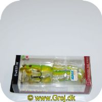 5707549437834 - Westin Freddy the frog - Green transparent frog - 185mm - 46gr.<BR>