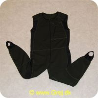 5708058012017 - Gingo Polartec overall heldragt til brug under waders - Str. M
