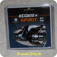 5709386286798 - Edges Spirit ST40 Spinnehjul - 5 lejer - Gear Ratio: 5.0:1
