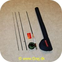608895963730 - Redington Crosswater Fluestang og hjul 9 fod klasse 5 - Med Line - I Hjultaske - 
