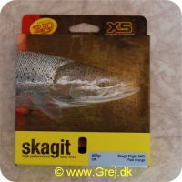 730884219693 - Skagit Flight Shooting Head Dobbelthånds Light Floating 7.01m - 25.9g - 400 grains - Pale orange - Loops i begge ender - RP21969