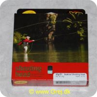 730884504058 - Rio Seatrout Shooting Head - Mint grøn - Hd. vægt 20g - Head 10,7m - Klasse 20g/S1 - Skydehoved