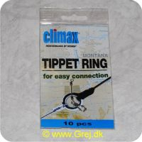 CTR01 - Climax Tippet Ring for easy connection - 2 mm - 10 stk