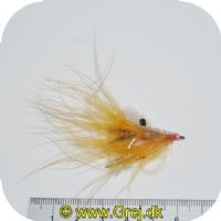 FL00728 - Seatrout UV Flies - Pink Pig UV - Str. 06 -  Pink/hvid/orange