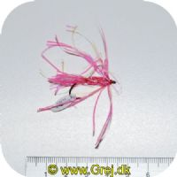 FL00732 - Seatrout UV Flies - Flammen UV - Str. 06 -  Pink/sølv