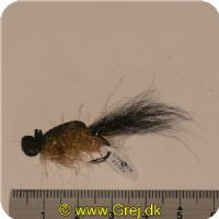 FL00744 - Seatrout UV Flies - Nightskater UV - Str. 06 -  Sort/sølv