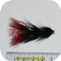 FL80016 - Modern Tube Flies - UF Kvallsocken 1.5 - Str. 1.5 - Sort/rød