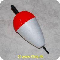 FLAM65 - Flamingoprop - Hvid med rød top - 65mm - X-Large