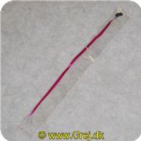 HAIR50MP - Hair extension  -Ca. 50 cm. - Farve: Mørk Pink - Med hår spænde