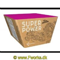 J23 - Batteri - SUPERPOWER - Bombarder himlen med SuperPowers stjerneregn - Nem: 920g